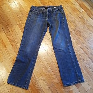 Lucky brand easy rider zipper fly jeans